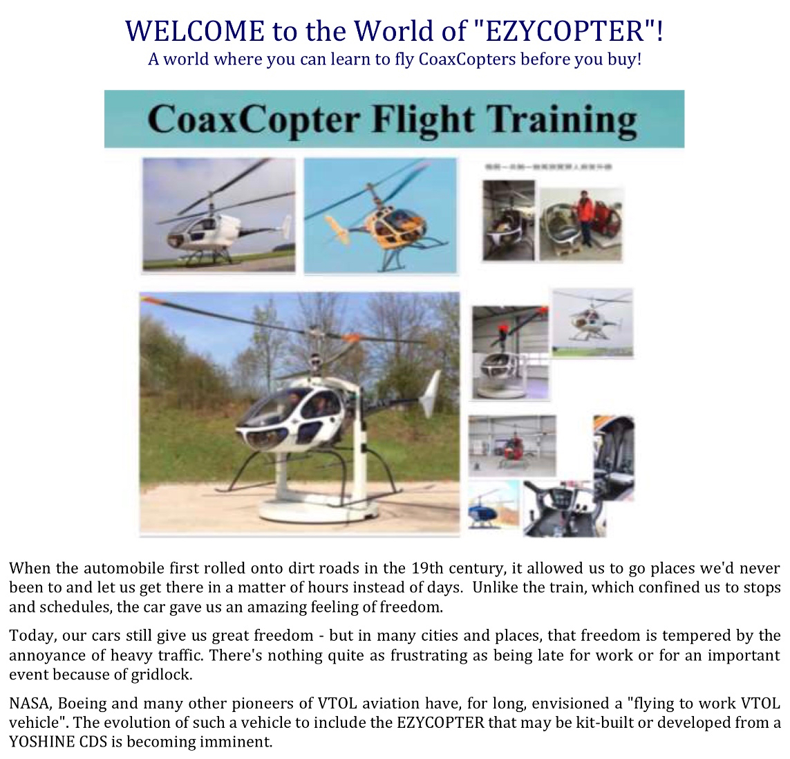 coaxcopter flight training